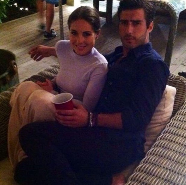 Alik Alfus and Louise Thompson pictured in The Hamptons during MIC:NYC, Instagram 26 February
