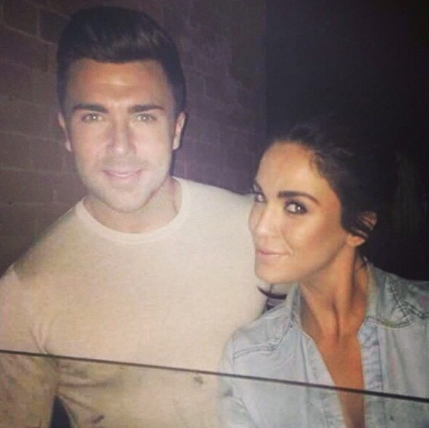 James Tindale and Vicky Pattison reunite in Birmingham, Chic Nightclub 24 February