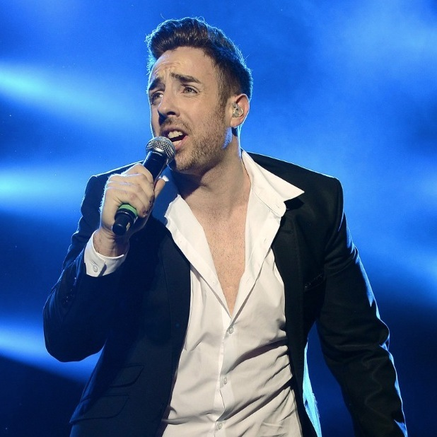 Stevi Ritchie on the X Factor live tour in Dublin, Ireland 2015
