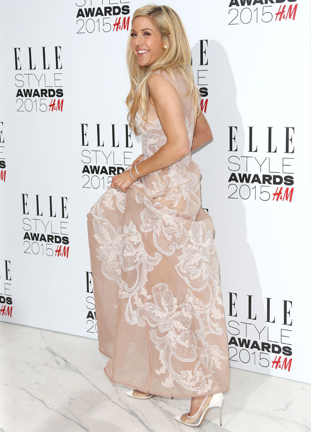 Ellie Goulding attends the Elle Style Awards, Sky Garden, Walkie Talkie building, London 24 February
