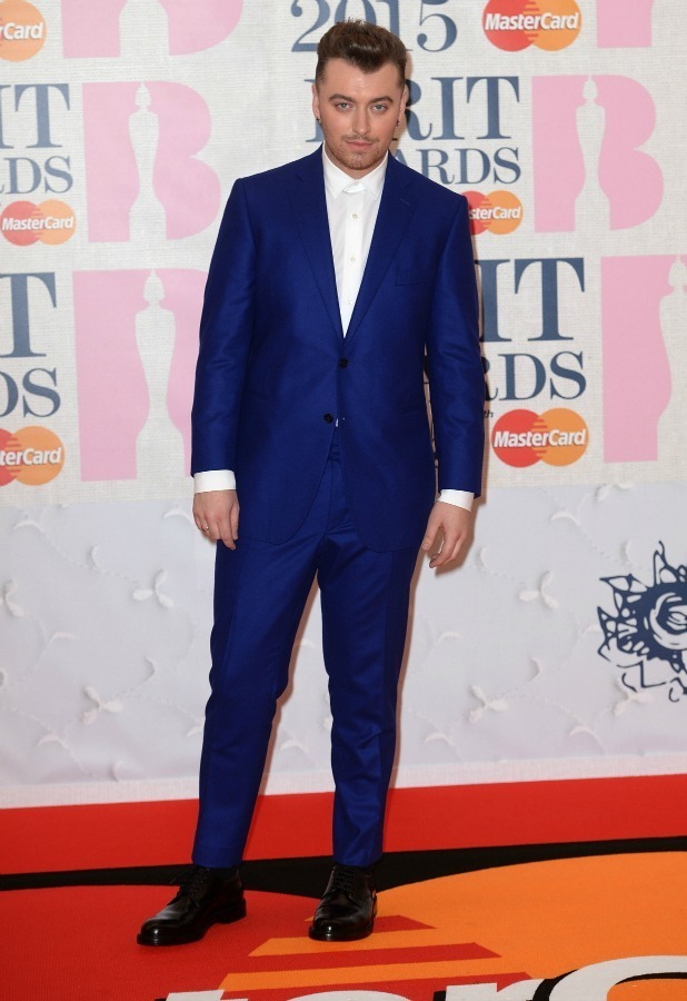 The Brit Awards, Arrivals, O2 Arena, London, Britain - 25 Feb 2015 Sam Smith