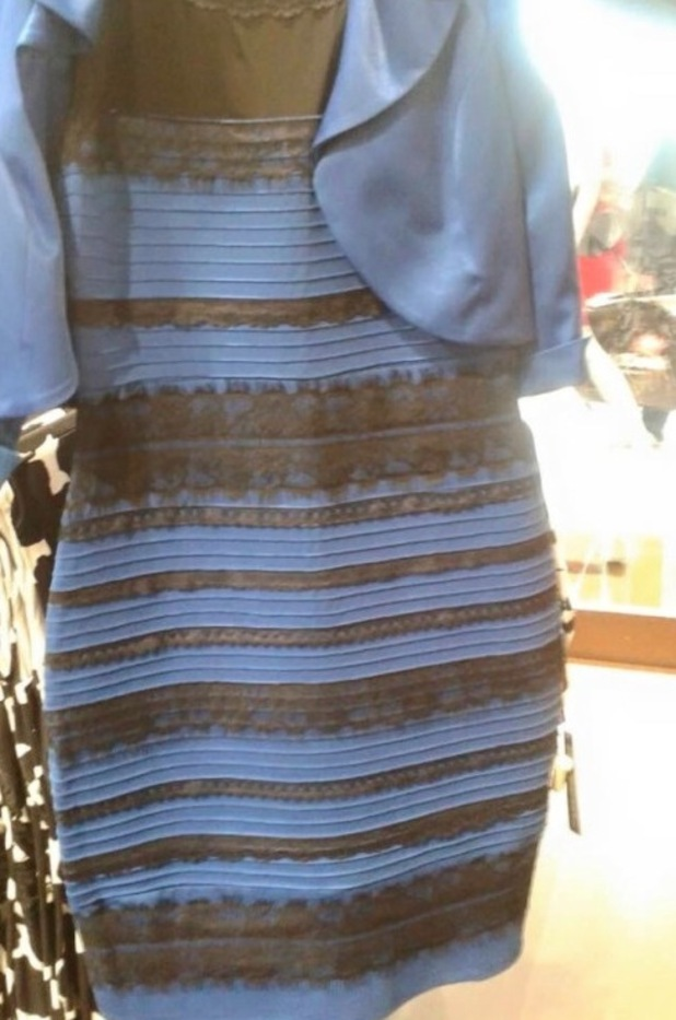 What Colour Is This Dress Blue And Black Or White And Gold