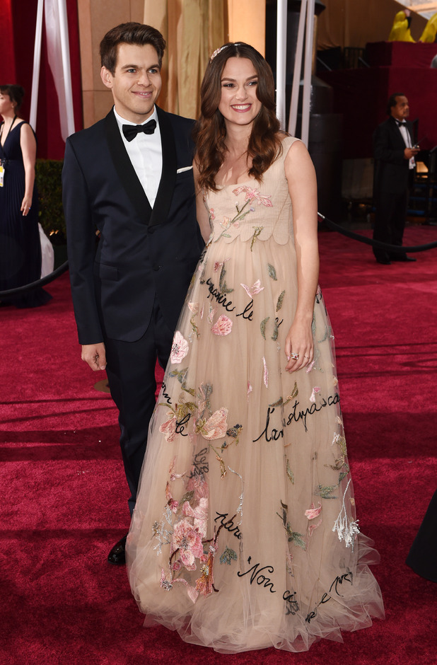 Keira Knightley and James Righton, 87th Academy Awards, Oscars, Arrivals, Los Angeles, America - 22 Feb 2015