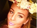 TOWIE's Lydia Bright channels her inner Barbie with bubblegum pink lippy.