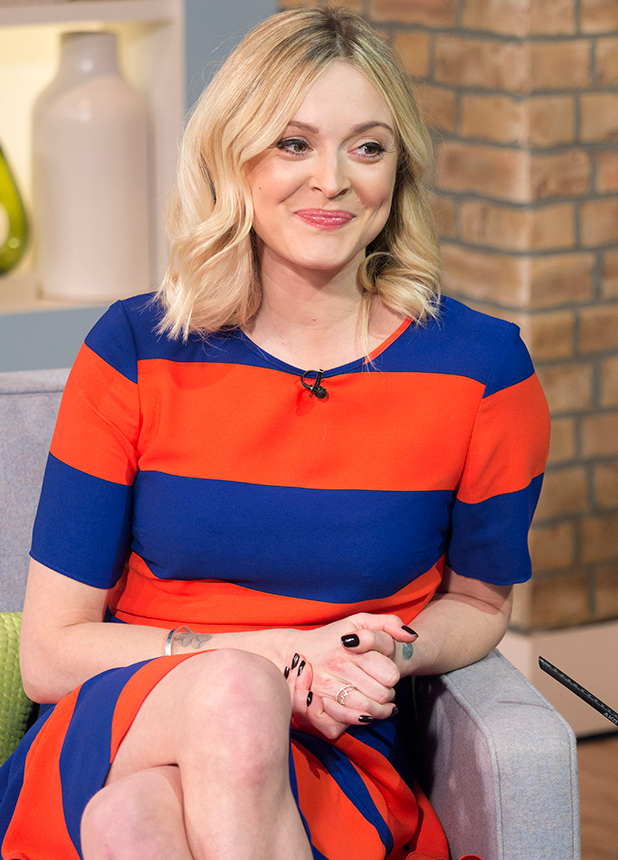 'This Morning' TV Programme, London, Britain. - 23 Feb 2015 Fearne Cotton