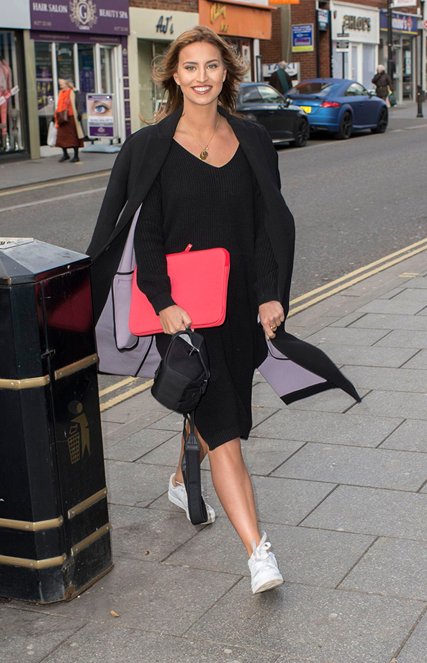 TOWIE stars out and about, Brentwood, Essex, Britain - 23 Feb 2015 Ferne McCann