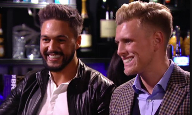 TOWIE episode 1, series 14, aired 22 February 2015: Mario Falcone and Tommy Mallet
