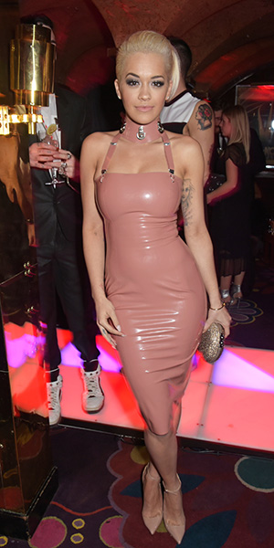 Rita Ora at the Madonna House of Love party at Annabelle's London 26th February 2015