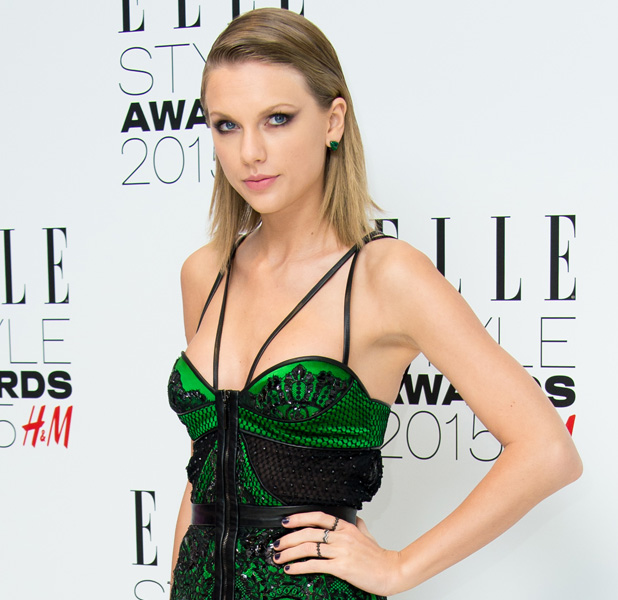 Taylor Swift at Elle Style Awards on 24 February 2015