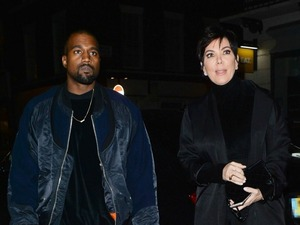 Kanye West treats mother-in-law Kris Jenner to dinner in London