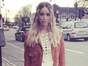 TOWIE's Lauren Pope rocks the '70s trend (again) in cute white dress