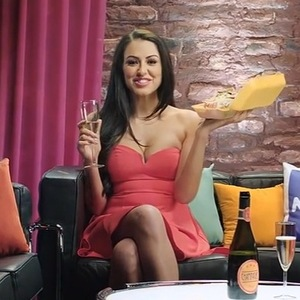 Marnie Simpson films new advert for NOW TV 4 March