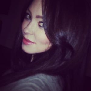 Natasha Hamilton reveals new brunette hair, Instagram 9 January