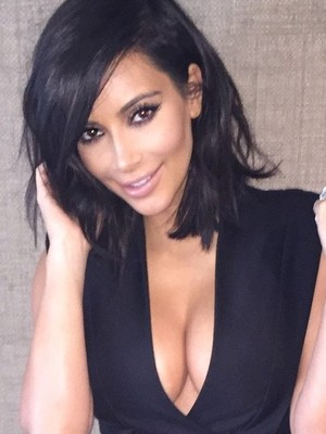 Kim Kardashian-West in instagram selfie 4th March 2015