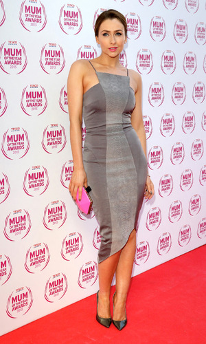 Gemma Merna at the Tesco Mum of the Year Awards at the Savoy Hotel, London - 03/01/2015.