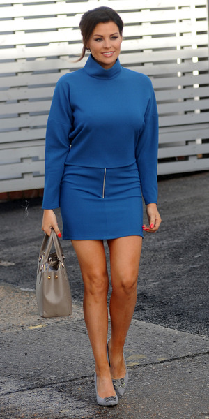 TOWIE's Jessica Wright spotted while filming in Essex, 6 March 2015