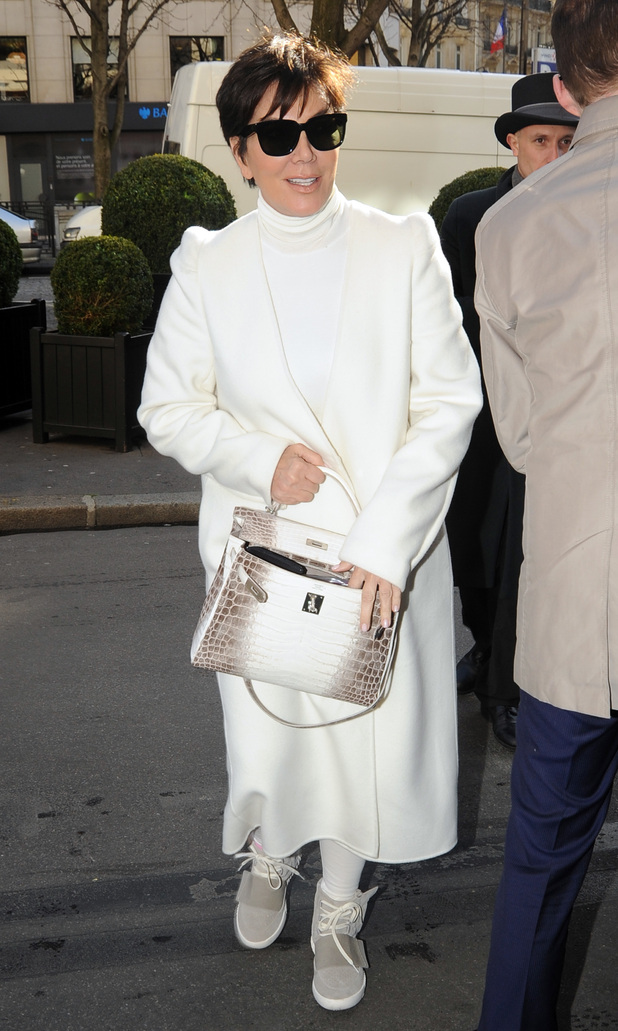 Kris Jenner out and about in Paris - 3 March 2015.
