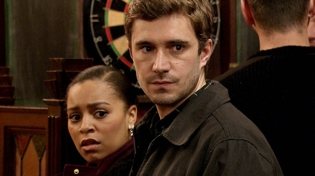 Corrie, Andy and Steph see Gavin, Wed 4 Mar