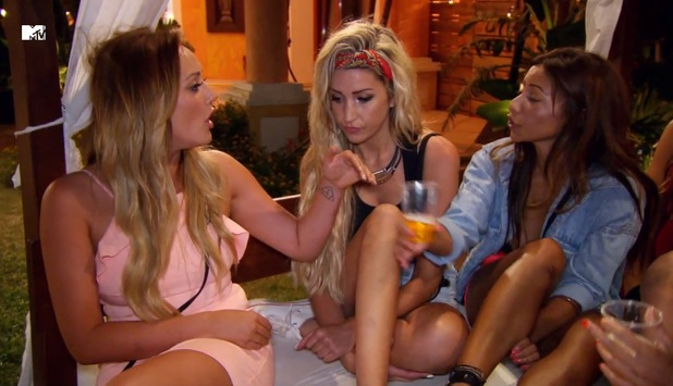 Kayleigh Morris and Charlotte Crosby clash on Ex On The Beach, Episode 6 3 March