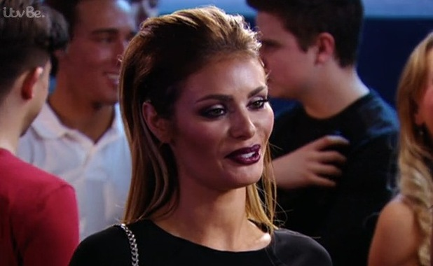 TOWIE's Chloe Sims and Elliott Wright make up - 4 March 2015.