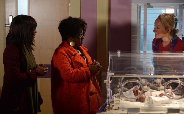EastEnders, Kim's baby doing well, Fri 6 Mar