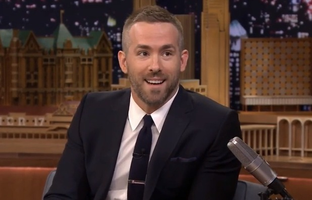 Ryan Reynolds appears on The Tonight Show with Jimmy Fallon, NBC 3 March