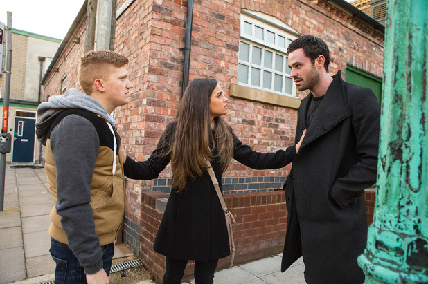 Corrie, Katy, Ches and Callum, Wed 11 Mar