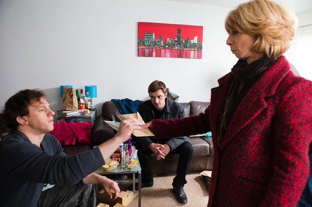 Corrie, Gail gives Gavin the money, Fri 13 Mar