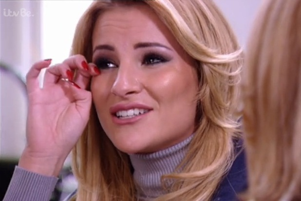 Georgia Kousoulou cries to Lydia Bright about being a COG - 4 March 2015