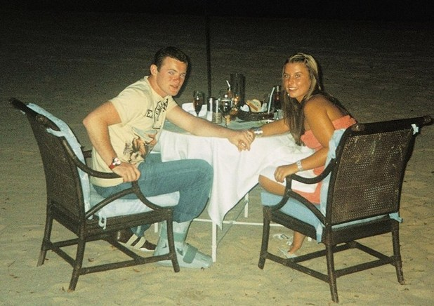 Coleen Rooney shares throwback picture of herself and now husband Wayne in Mexico aged 18 - 28 Feb 2015