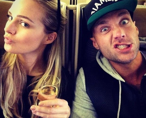 CBB star Calum Best heads on holiday with girlfriend Ianthe Rose.