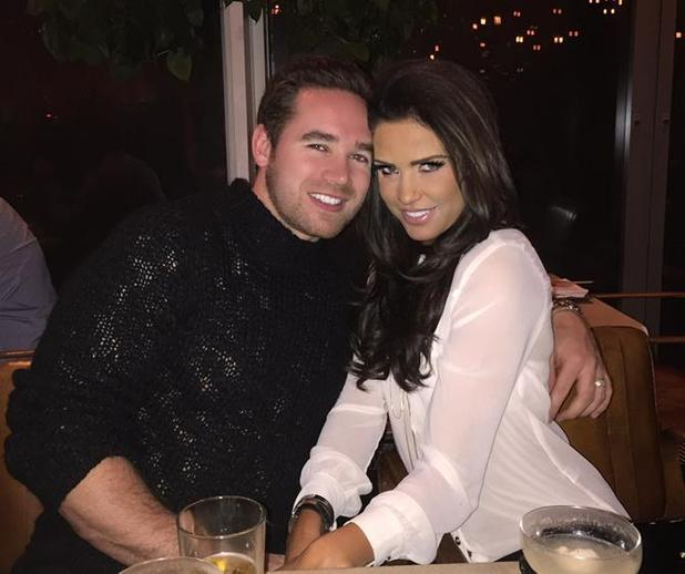 Katie Price and Kieran Hayler enjoy night out with pals, 6 March 2015
