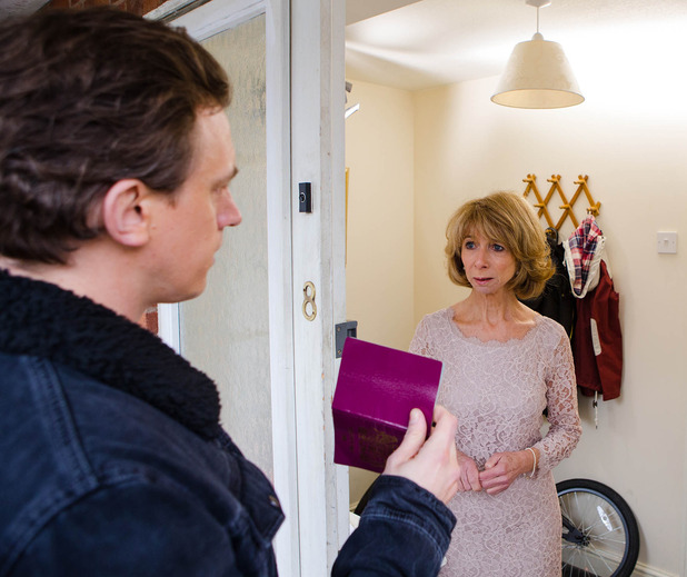 Corrie, the real Gavin shows up, Mon 9 Mar