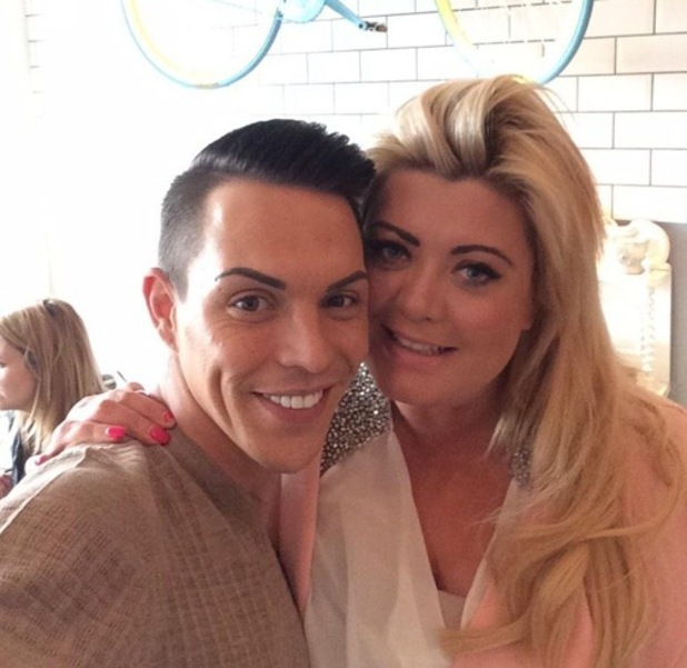 TOWIE's Bobby Norris and Gemma Collins enjoy lunch together, Twitter 2 March