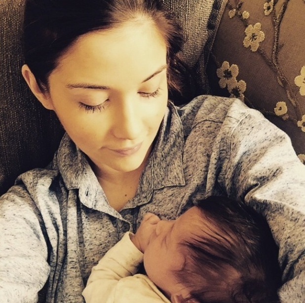 Jacqueline Jossa shares new pictures of baby Ella - 6 March 2015