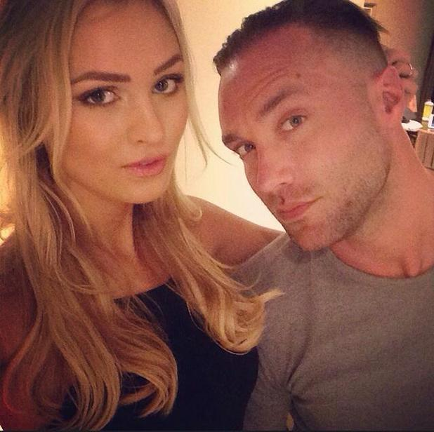 Calum Best goes out for dinner with girlfriend Ianthe in Abu Dhabi - 2 March 2015.