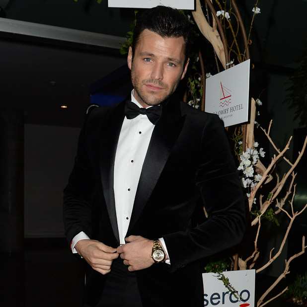 Mark Wright attends The Mirror Ball at The Lowry Hotel, 6 March 2015