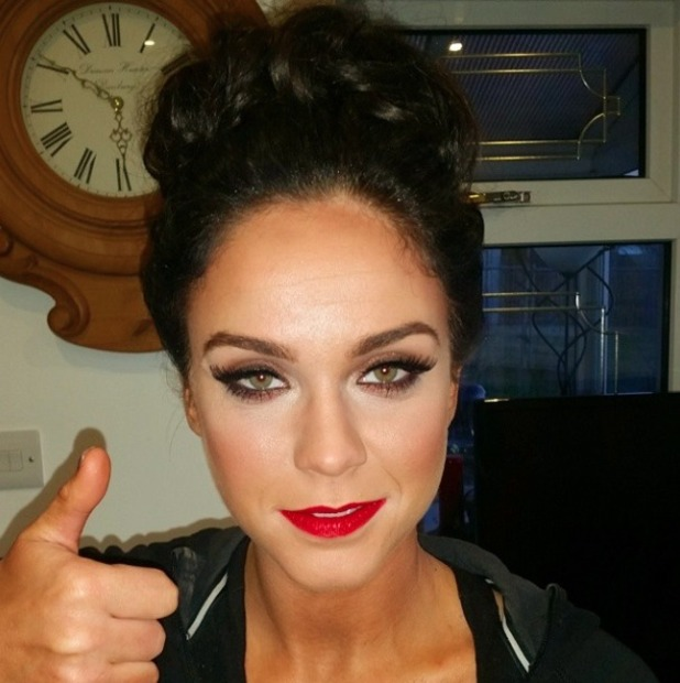Vicky Pattison wears Girls With Attitude Double Lash False Eyelashes for The Sun Bizarre party, 2 March 2015