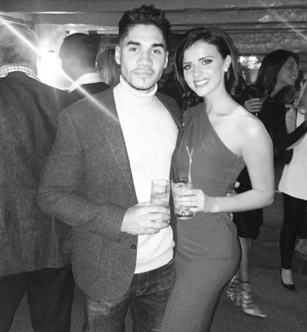 Lucy Mecklenburgh cosies up to boyfriend Louis Smith on night out in Essex - 28 February 2015.