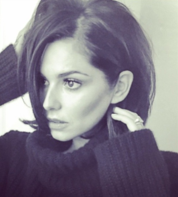 Cheryl Fernandez-Versini shares a new picture of her short 70s haircut - 3 March 2015