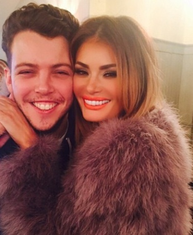 Chloe Sims shows off her ripped jeans while filming TOWIE with James 'Diags' Bennewith - 3 March 2015