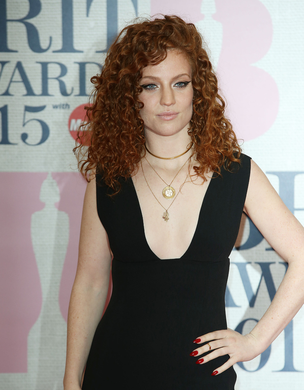 Jess Glynne, The Brit Awards at the O2 - Arrivals, 26 February 2015