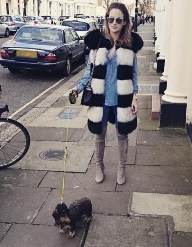 Rosie Fortescue Instagram, 1/2/15