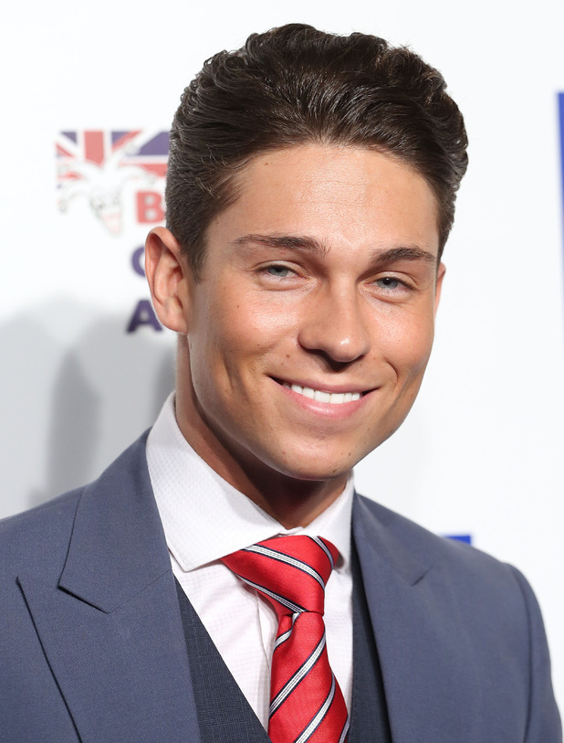 Joey Essex at the British Comedy Awards 2014 - Arrivals 12/16/2014 London, United Kingdom