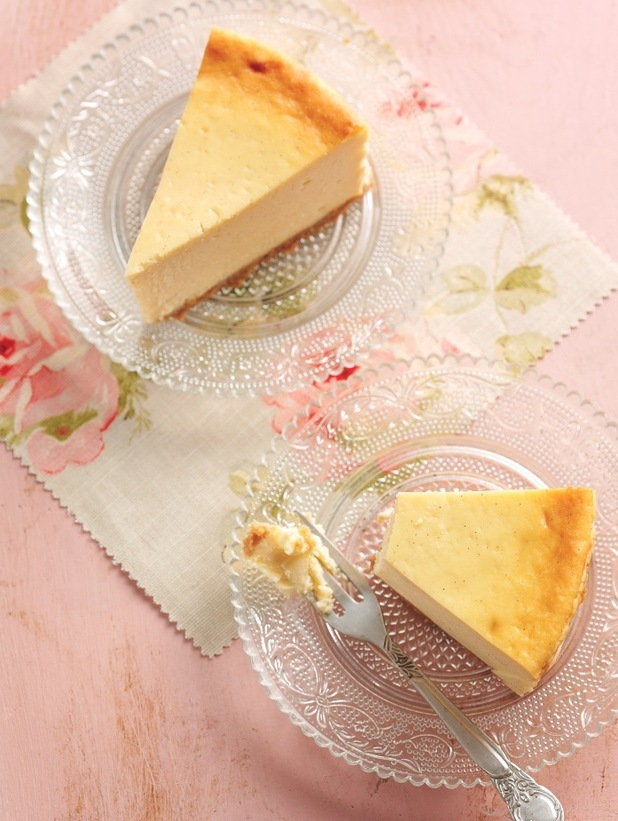 eric lanlard baked vanilla cheesecake for nielsen-massey