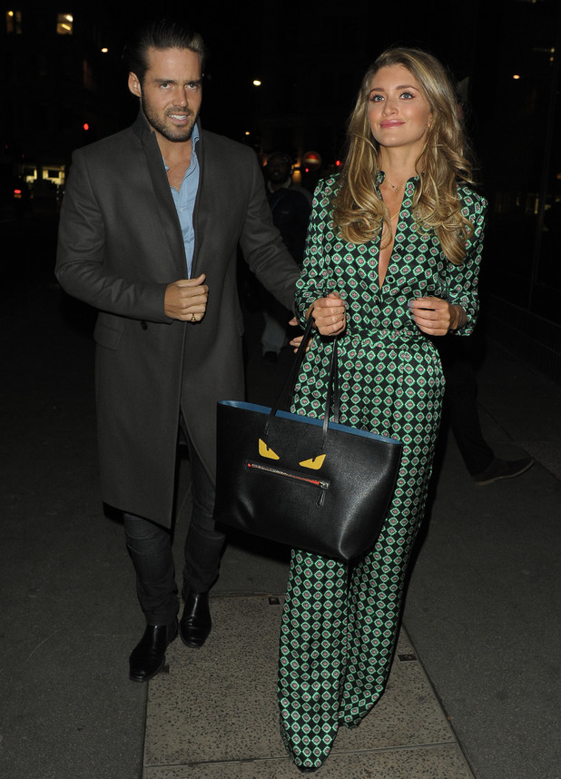 Spencer Matthews and Lauren Hutton attend party hosted by The Sun, Steam and Rye, London 2 March
