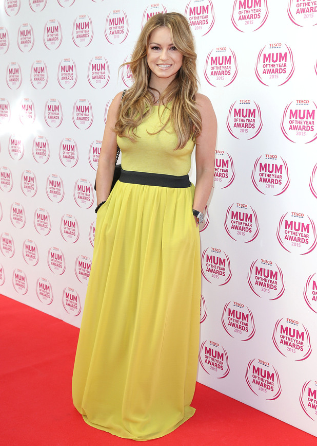 Ola Jordan attends Tesco's Mum Of The Year Awards, The Savoy, London 1 March
