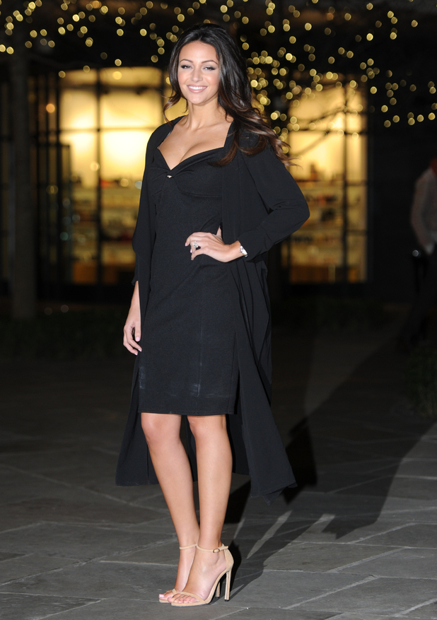 Michelle Keegan steps out in a sexy LBD at Lipsy press day (2 February)