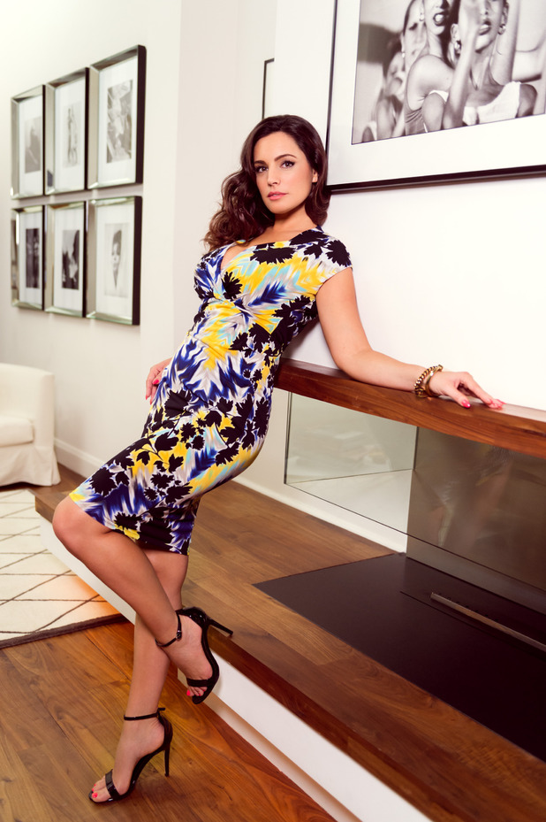Kelly Brook's latest collection for Simply Be