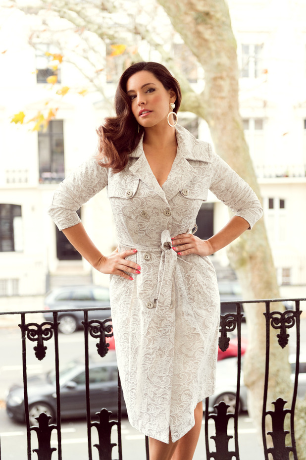 Kelly Brook's latest high street collection for Simply Be